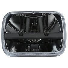 100 Truck Lite Complex Reflector 5x7 LED Rectangular 2 Diodes Headlight