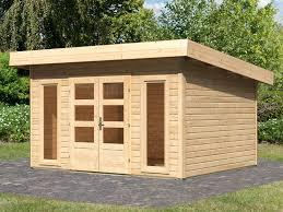 chalet de jardin avesta en bois surface 11 4m ép 40 mm