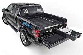 Decked Pickup Bed Storage System | Tools Of The Trade | Fleets ... Decked Adds Drawers To Your Pickup Truck Bed For Maximizing Storage Adventure Retrofitted A Toyota Tacoma With Bed And Drawer Tuffy Product 257 Heavy Duty Security Youtube Slide Vehicles Contractor Talk Sleeping Platform Diy Pick Up Tool Box Cargo Store N Pull Drawer System Slides Hdp Models Best 2018 Pad Sleeper Cap Pads Including Diy Truck Storage System Uses Pinterest