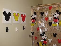 Mickey And Minnie Bath Decor by Bathroom Mickey And Minnie Bathroom Mickey Mouse Shower Curtain