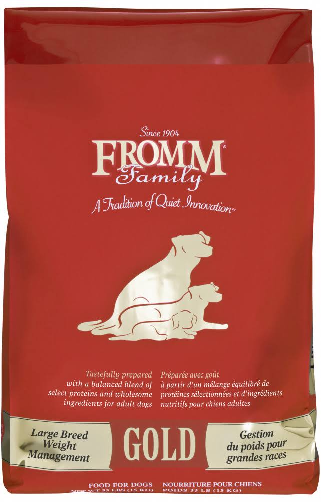 Fromm Gold Weight Management Large Breed Dry Dog Food - 33 lb Bag