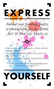 Unt Dallas Help Desk by Unt Dallas Library Blog Express Yourself Art U0026 Poetry Display