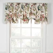 Boscovs Blackout Curtains by Brissac Print Lined Scallop Valance 70x16 Boscov U0027s