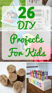 26 DIY Woodworking Projects For Kids