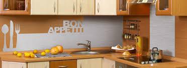 revetement mural cuisine crédence déco revêtement mural décoratif pour plan de travail en