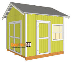 10x20 Shed Floor Plans by Free Shed Plans With Drawings Material List Free Pdf Download