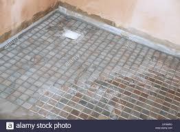 non slip tiles used for the flooring in a room shower