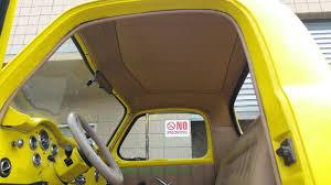 1947 Studebaker Pickup Classic Truack With Custom Headliner - YouTube Moreinstalls 1959 Ford F100 Pickup Truck Restoration No4 Headliner Installation San Luis Auto Interiors Repairs Custom On The Lmc Chevygmc Headliner With Kevin Tetz 6772 C10 Ricks Upholstery 1956 Chevy Done By Varelas In Selma Ca For Car And Seats Carpet Headliners Door Panels P_sod_rat0003 Roadster Shop Interior Accsories Cluding Steering Wheels Gauge Covers Dash Vwvortexcom Caddy Headliner