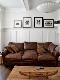 Wonderful 10 Beautiful Brown Leather Sofas Within Distressed Couch