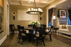 Round Entryway Rugs Table Dining Room Traditional With Area Rug Baseboards Centerpiece Image By Limited For Winter