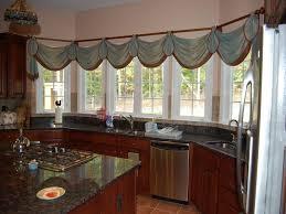 Kitchen Curtain Ideas For Bay Window by Ideal Kitchen Window Treatment Ideas U2013 Home Designing