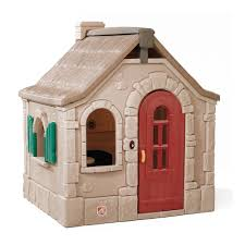 naturally playful storybook cottage kids playhouse step2
