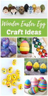 Primitive Easter Tree Decorations by Diy Wooden Egg Craft Ideas For Easter Rhythms Of Play