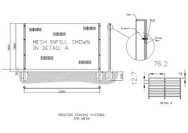 The Drawing Of Anti Climb Fence Installation Including Cad Drawings In Autocad Format