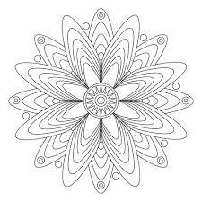 Free Mandala Coloring Pages For Children Kids And Even Adults