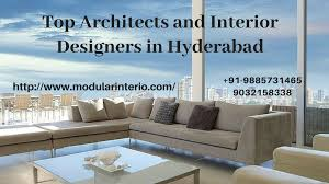 100 Architects In Hyderabad And Terior Designers In