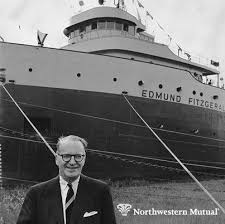 Edmund Fitzgerald Sinking Location by Our Iconic Great Lakes Freighter The Ss Edmund Fitzgerald Is