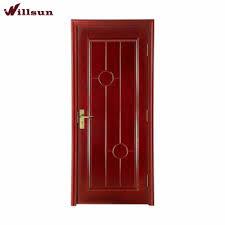 porte de chambre en bois superbe plat sculpture en bois de couleur solide acajou porte