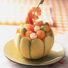 recette salade de melon et avocat cuisine madame figaro