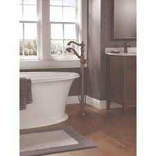 Delta Floor Mount Tub Filler Rough In by Delta Faucet T4797 Rbfl Lhp Traditional Venetian Bronze
