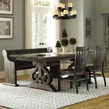 Dining Room Furniture Best Of Magnussen Home Bellamy Transitional Four Piece Weathered Gray