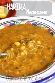 cuisine marocaine en langue arabe harira soupe marocaine traditionnelle recettes à cuisiner