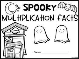 Halloween Multiplication Worksheets 3rd Grade by Multiplication Facts Practice Halloween Activities Third Grade