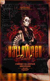 Free Halloween Invitation Templates Microsoft by 7 Halloween Flyer Templates Bookletemplate Org