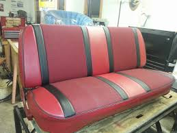 Homestyle Custom Upholstery And Awning: Custom 68 Ford Pickup Seat ... Bench Chevy Truck Seat Soappculture Com Fantastic Photos Upholstery Outdoor Fniture Buffalo Hide Car Summer Leather Cushion Reupholstering The Youtube How To Recover Refinish Repair A Ford Mustang Amazoncom A25 Toyota Pickup Front Solid Charcoal 1956 Reupholstered Part 1 Kit Replacement For And Seats Carpet Headliners Door Panels To Clean Suede It Still Runs Your Ultimate Older Auto Interior Customizing Shops Best Accsories Home 2017 01966 Chevroletgmc Standard Cab U104