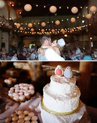 Bird Cake Toppers Wedding In A Barn