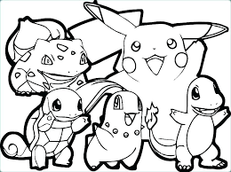 Pikachu Coloring Sheet Pages Unique Or Free Printable To Print