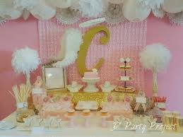 Sweet Treats Corner Styling By D Party Project For An Angel Theme Baptismal