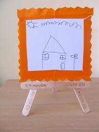 Diy Popsicle Sticks Crafts Picture Frame Kids Decor Ideas