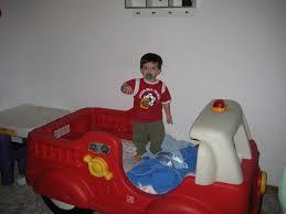 100 Kids Fire Truck Bed Step 2 Toddler Rockcut Blues Design Little