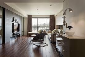 Living Room Curtain Ideas Beige Furniture by Flooring Brown Curtains With Beige Sofa And Dark Hardwood Floors