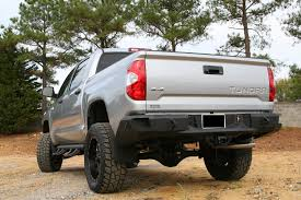 Fab Fours 2014+ Tundra Premium Rear Bumper [TT14-W2850-1 ... Composite Bumpers For Toyota Tundra 072018 4x4 2014 Up Honeybadger Rear Bumper W Backup Sensor 3rd Gen Truck Post Your Pictures Of Non Tubular Custom Frontrear How To Tacoma Front Removal New 2018 4 Door Pickup In Brockville On 10201 Front Bumper 2016 Proline 4wd Equipment Miami Bodyarmor4x4com Off Road Vehicle Accsories Bumpers Roof Buy Addoffroad Ranch Hand Accsories Protect Weld It Yourself 072013 Move Diy 2015 Homemade And Bumperstoyota Youtube
