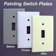 Light Switch Covers Paint Wanker for