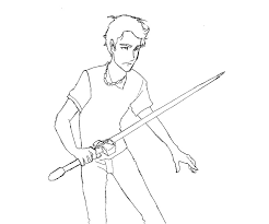 Epic Percy Jackson Coloring Pages 82 On Books With
