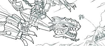 Ninjago Dragon Coloring Pages Ultra For
