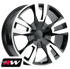 100 20 Inch Truck Rims Inch X9 RW Tahoe RST 18 Wheels For GMC Black