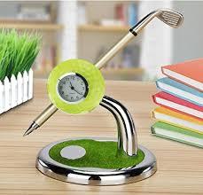 mini golf de bureau crestgolf cadeau de golf balle de golf conception porte stylo de
