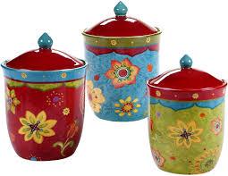 Ceramic Kitchen Canister Sets Decorative 3 Ceramic Kitchen Canister Sets Designs