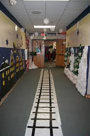 Polar Express Door Decorating Ideas by Model Home Interior Decorating Minimalist Christmas Decor Big Lots