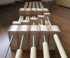 Wooden Bar Clamp 10 Steps With Pictures