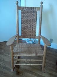 Boston Beautiful Wood Shaker Style Rocking Chair 125