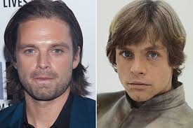 Star Wars Mark Hamill Agrees Captain Americas Sebastian Stan Is Spitting Image Of His Younger Self