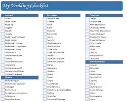 Printable Wedding Planning Checklist Simple Real All Pics