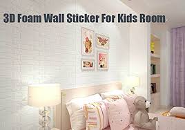 Peel And Stick Foam Brick Tile Panels For WallWhite 3D Wallpaper Waterproof Removable 15PACK