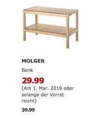 home furniture diy ikea molger bank aus massiver birke