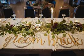 Head Table Eucalyptus Garland